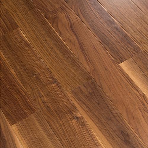 暖色黑核桃实木地板