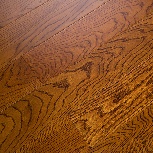 暖色栎木实木地板